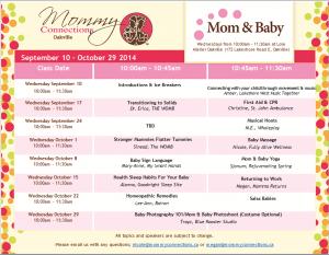 Mom & Baby Oakville _ Fall 2014