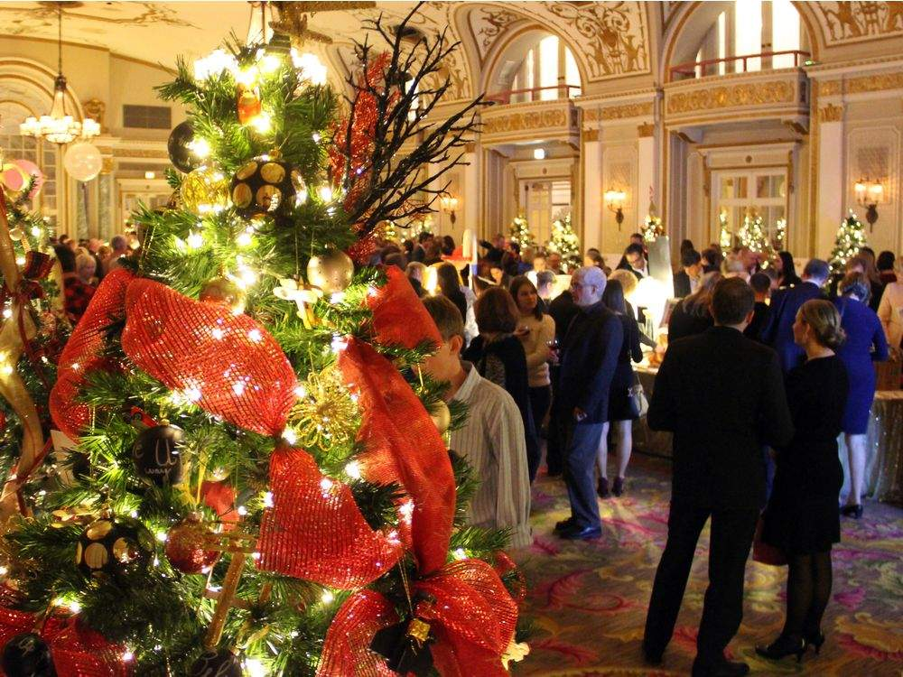 Image result for trees of hope chateau laurier
