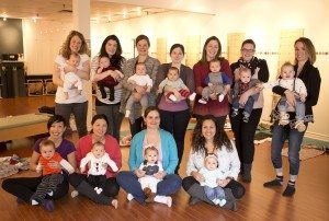 Mommy Connections Class Photo - Jan 2015 Tues PM