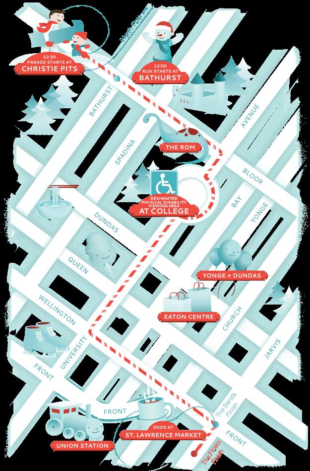 santa-claus-parade-route