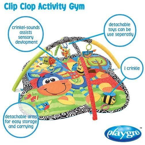 Clip Clop Activity Gym