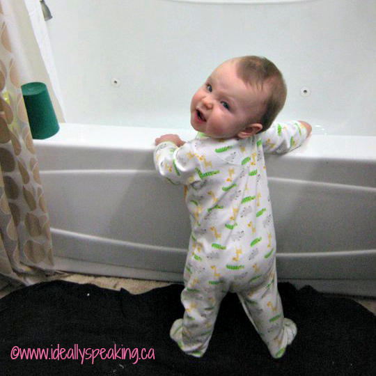 baby bath, overwhelmed, parenting, bath time, million moments of joy