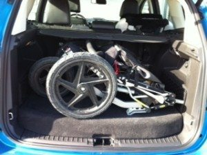 Trunk with Stroller