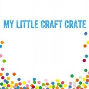 craft crate box label